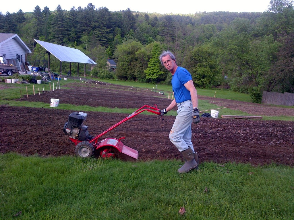 Chris is the tillerman.  But he'd gladly share the work.