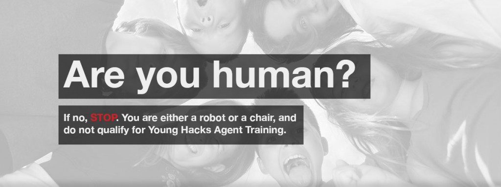 Image of children from the Young Hacks Academy website