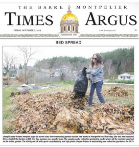 Barre-Montpelier Times Argus photographer Jeb Wallace-Brodeur visited the garden.
