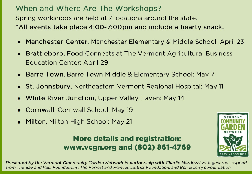 VCGN 2015 Grow It workshop dates & locations.bmp