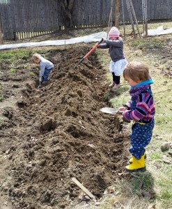 This garden has work for a wide range of ages and abilities.