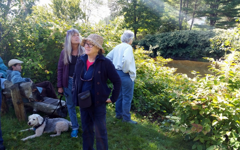 As the discovery walk ended, the river's spell held us there and our discoveries continued.